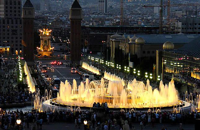 Roteiro em Barcelona: Quando uma Fonte é realmente Mágica