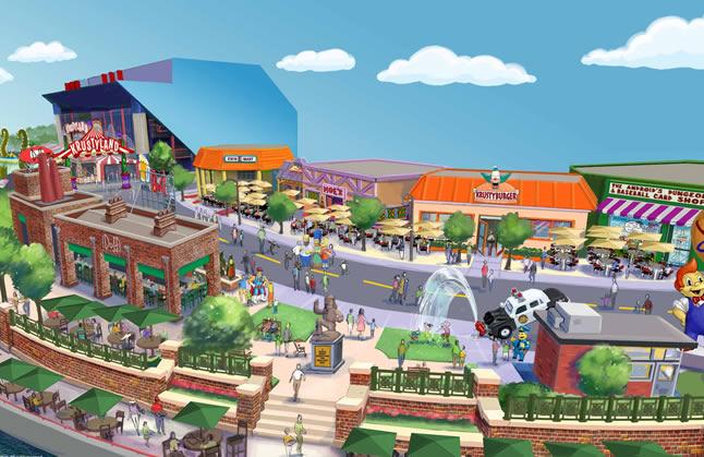 Springfield, a cidade de Os Simpsons, já existe na vida real na Universal Studios