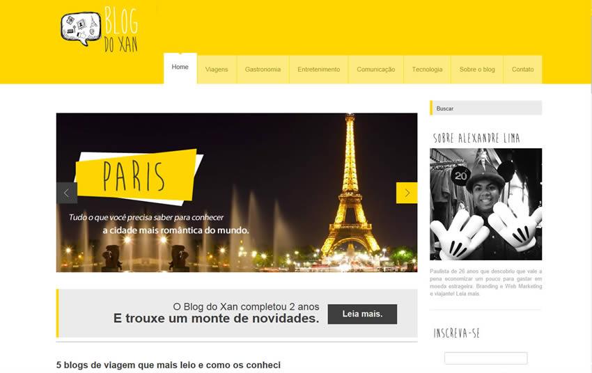 É festa: dois anos do Blog do Xan!