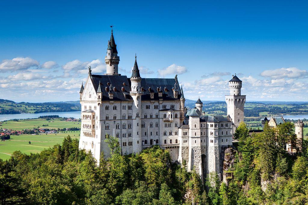 Conheça o Castelo de Neuschwanstein, o castelo da Cinderela, na Alemanha
