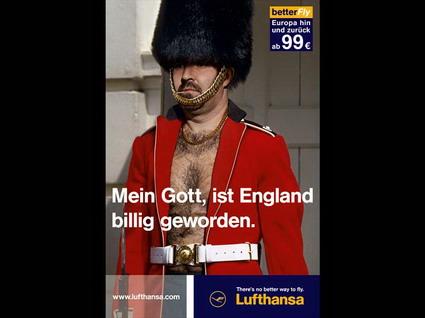 Lufthansa Ad