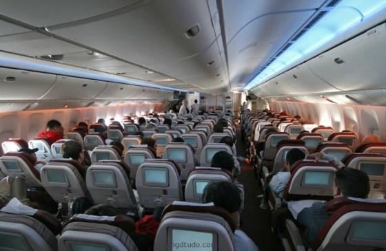 Interior do 777-300ER