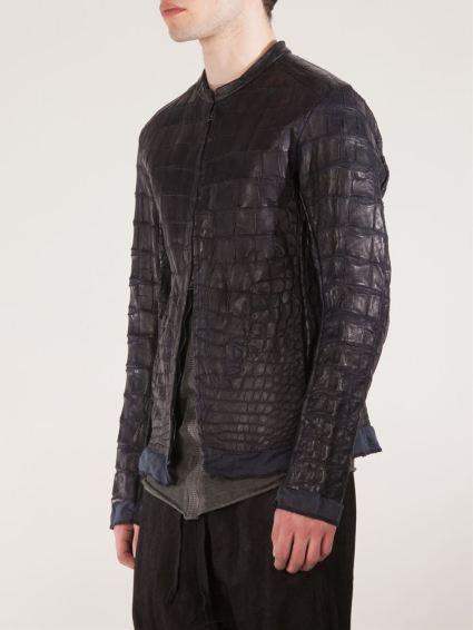 Isaac Sellam Expérience propose une veste en cuir de crocodile à 10 800 €