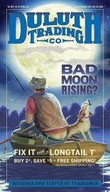 April 2013 Longtail T Shirt Cover: Bad Moon Rising?