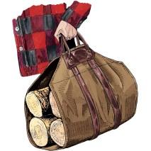 Fire Hose Log Carrier Item #64750