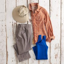 Summer Solved: Armachillo® Cooling Shirt, Pants, Tank Outfit