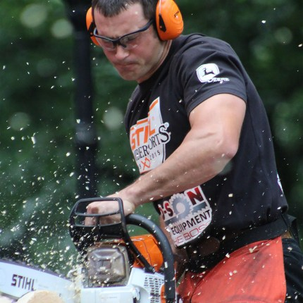 STIHL® TIMBERSPORTS® Nathan Waterfield Stock Saw