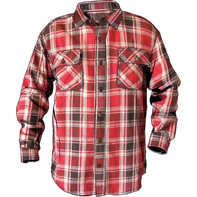 Men's Burlyweight™ Free Swingin' Flannel Shirt Item #24508