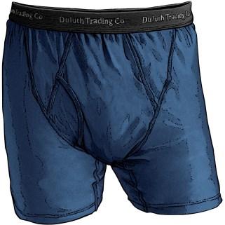 Men's Buck Naked™ Performance Underwear Boxer Briefs