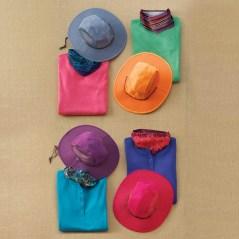 Women's Sun Protecting Crusher Hats, Buffs, Longtail T® Shirts
