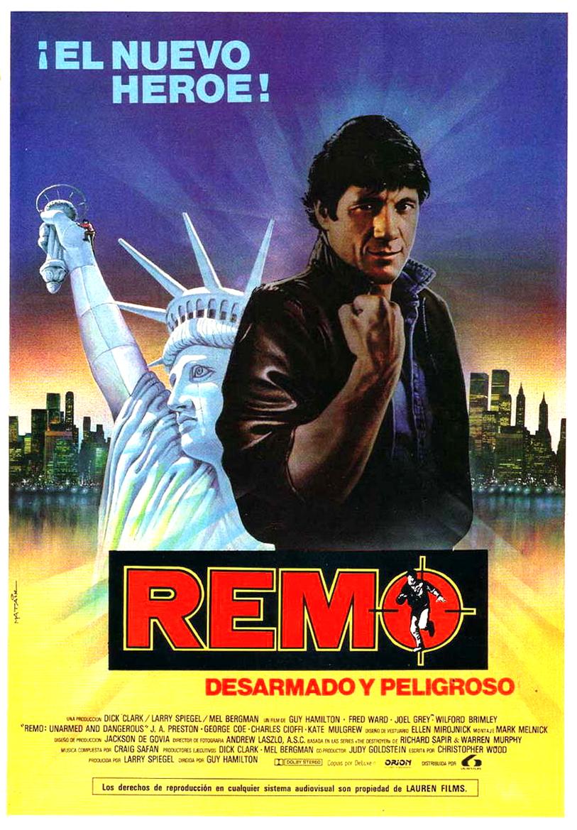 Remo Sans Arme Mais Dangereux : dangereux, REMO,, DANGEREUX, (1985)
