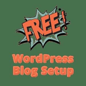 Free Wordpress Blog Setup