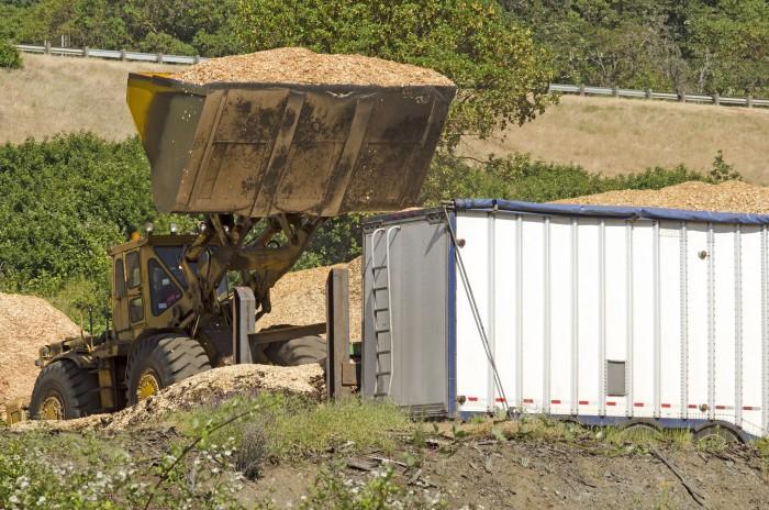 Transporte biomasa pellets