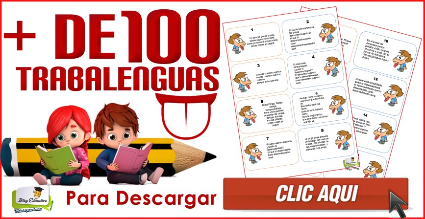 Más de 100 trabalenguas para mejorar la dicción de los pequeños