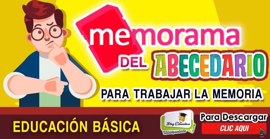 Memorama de abecedario - Educación Básica gratis