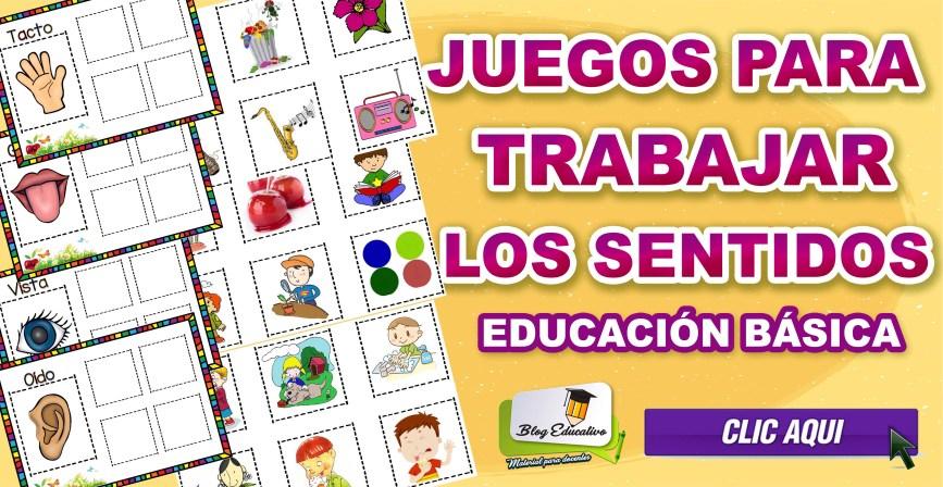 Juegos para trabajar los sentidos - Blog Educativo