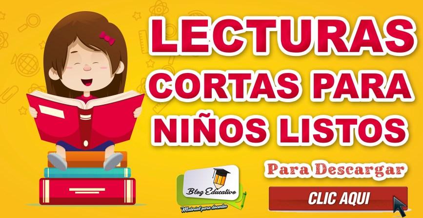 Lecturas cortas para niños listos gratis - Blog Educativo