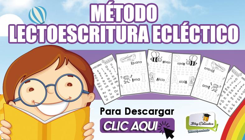 Método de Lectoescritura Ecléctico - Blog Educativo
