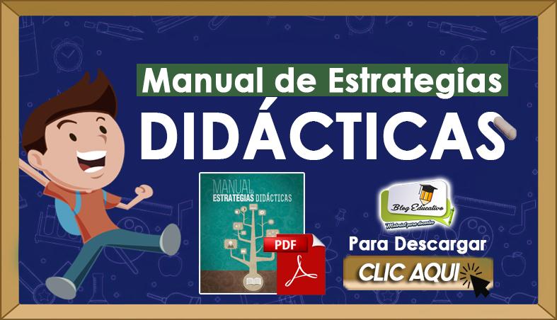 Manual De Estrategias Didácticas Blog Educativo