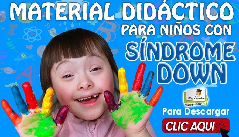 Material didáctico para niños con Síndrome DOWN