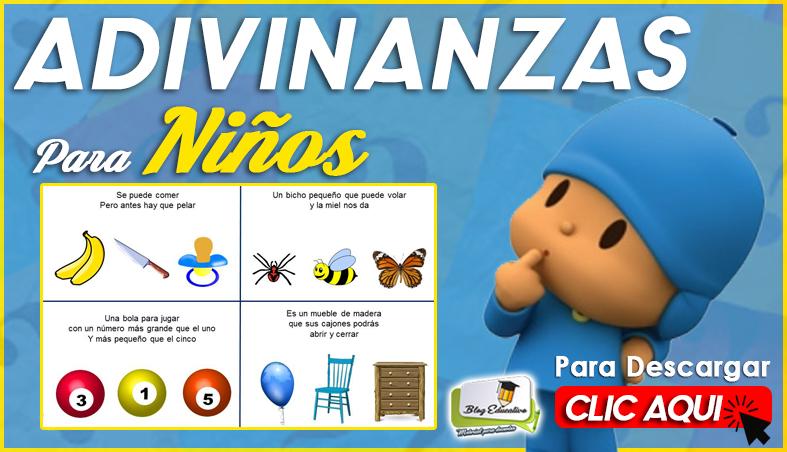 Fichas de Adivinanzas para Niños - Blog Educativo