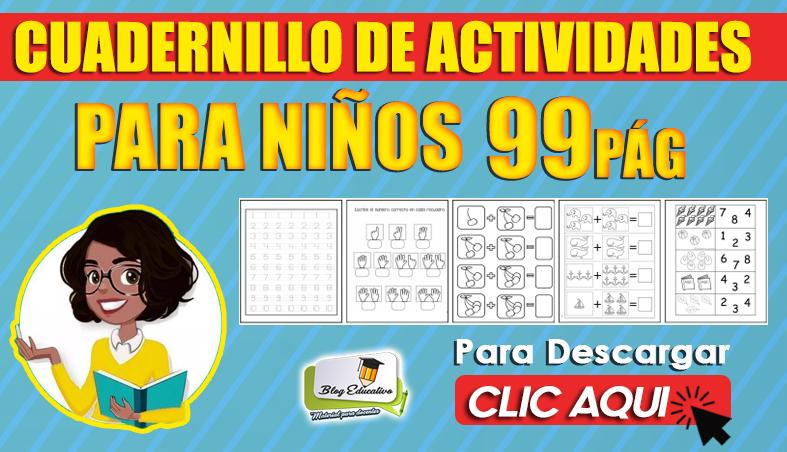 Cuadernillo de Actividades para Niños 99 Pág en PDF