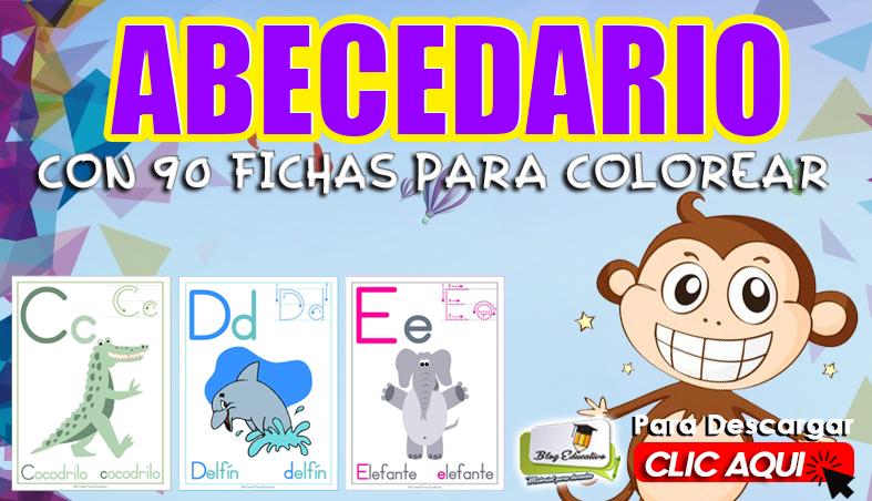 Abecedario con 90 Fichas para Colorear - Blog Educativo