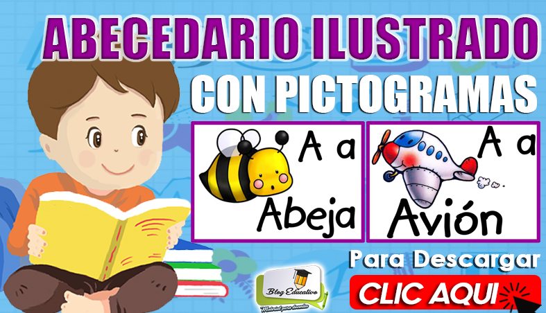 Abecedario Ilustrado con Pictogramas - Blog Educativo