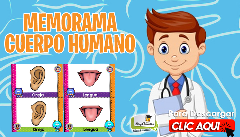 Memorama del Cuerpo Humano Gratis - Blog Educativo