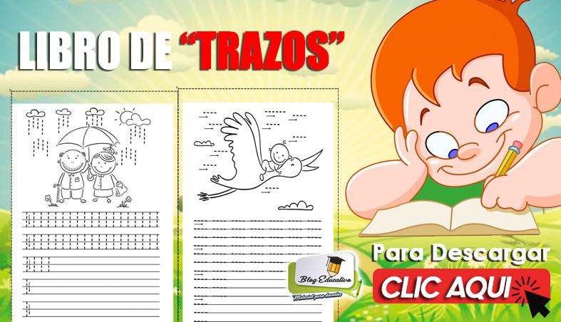 LIBRO DE TRAZOS PARA NIÑOS DE PRIMARIA 2020
