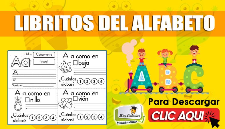 PDF sobre Libritos del Alfabeto Gratis - Blog Educativo