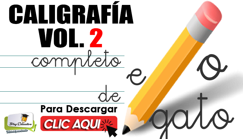 Caligrafía Volumen Dos en PDF Gratis - Blog Educativo