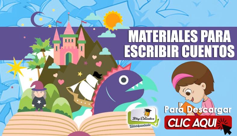Materiales para Escribir Cuentos PDF - Blog Educativo