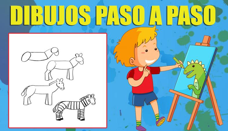 Dibujos Paso a Paso para niños de Primaria - Blog Educativo