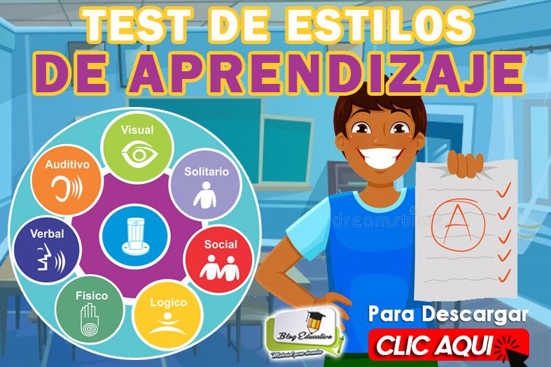 Test de Estilos de Aprendizaje gratis - Blog Educativa