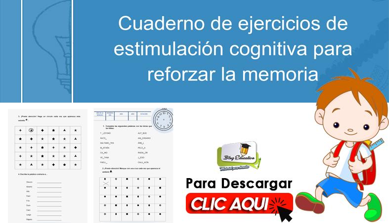 ejercicios de estimulacion cognitiva para reforzar la memoria