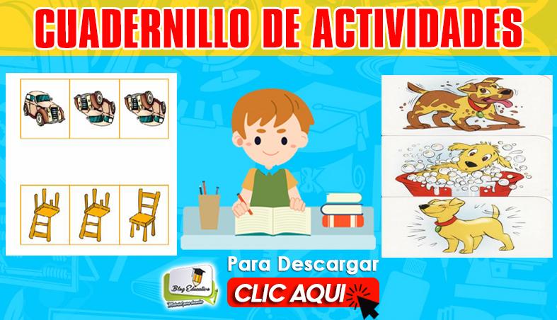 Cuadernillo de Actividades 99 pag Gratis - Blog Educativo