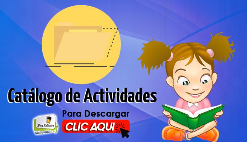Catálogo de Actividades para Niños de Primaria Gratis