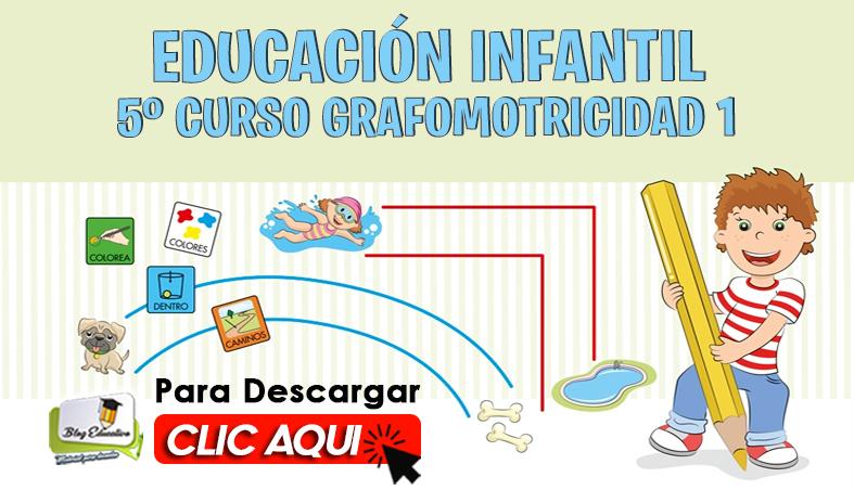 Educación Infantil 5 Curso Grafomotricidad 1 gratis