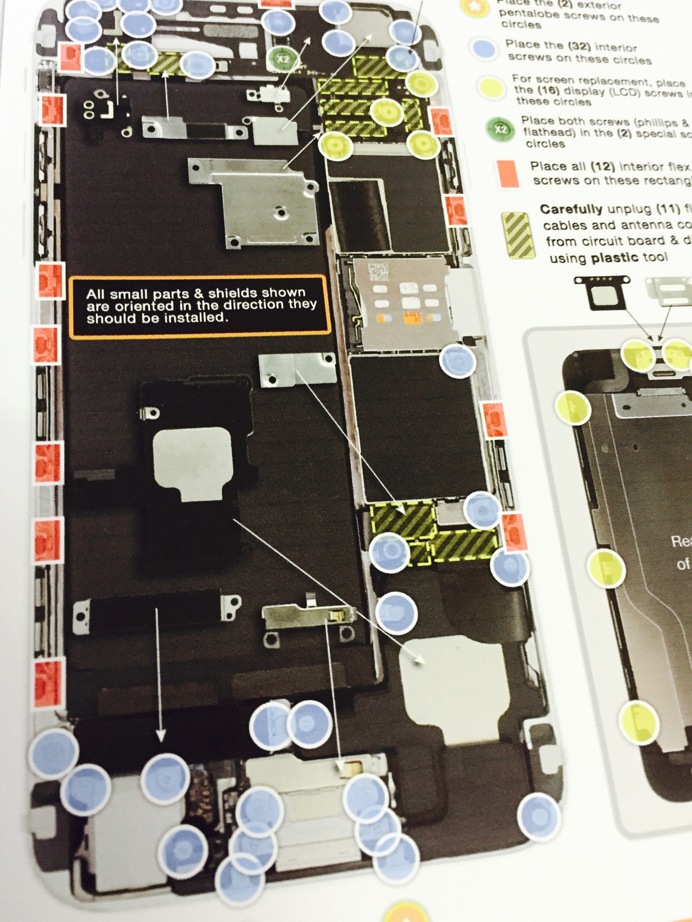 iphone 4 screw layout diagram white house repair archives etech parts plusetech plus