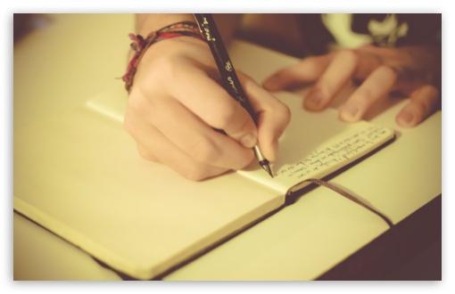 écrire - blogetrebien.fr