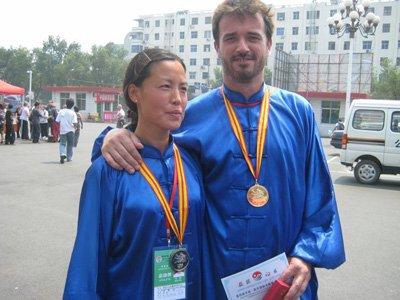 yan He championne de Chine tai chi 2007