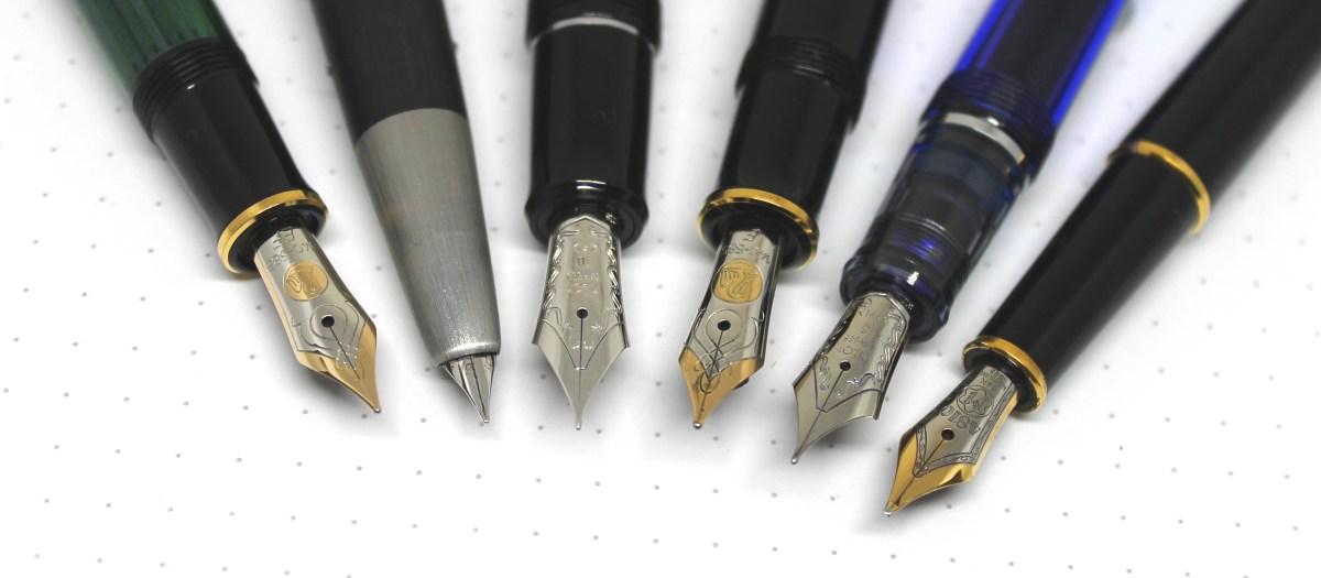 understanding fountain pen nibs