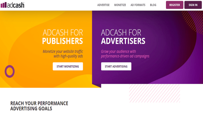 AdCash Ads Network