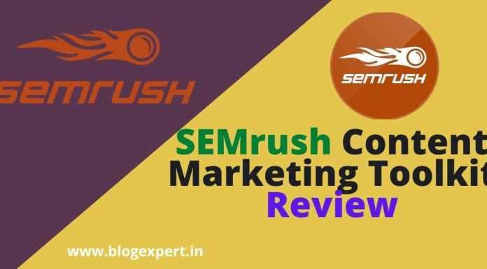SEMrush Content Marketing Toolkit Review