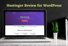 Hostinger Review for WordPress