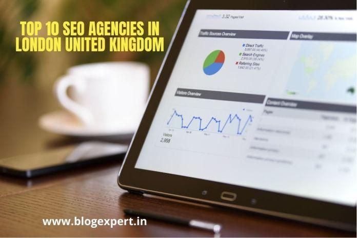 Top 10 SEO Agencies In London United Kingdom