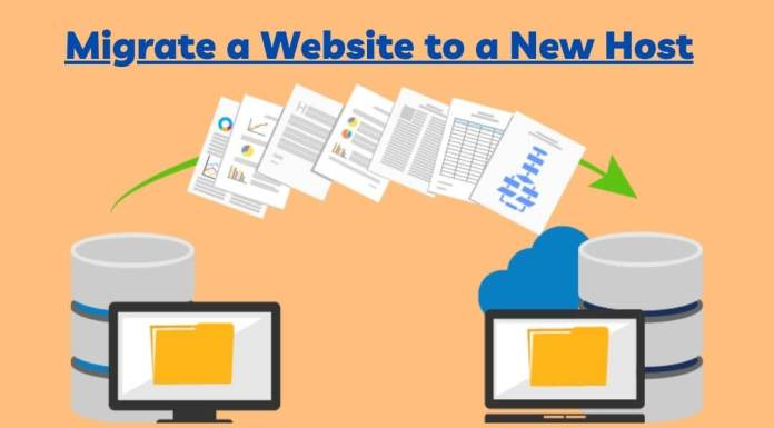 Migrate a Website to a New Host