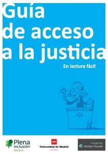 Foto portada guía de acceso a la justicia en lectura fácil
