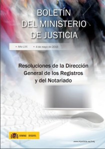 Foto portado resoluciones DGRN Noviembre 2015